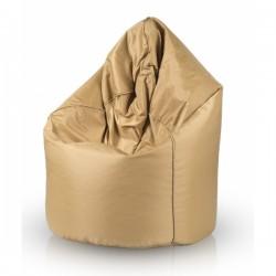 Sedací vak ECOPUF - MEGA SAKO GOLD - voděodolný polyester