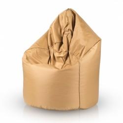 Sedací vak ECOPUF - SAKO GOLD - voděodolný polyester