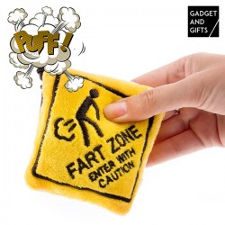 Přívěsek na klíče fart zone - Gadgets and gifts