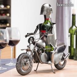 Kovový stojan na víno Motorkář Homania