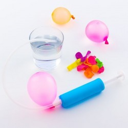 Vodní balónky s ruční pumpou (30 kusů)