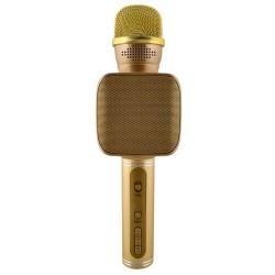 Zlatý bezdrátový mikrofon