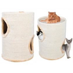 Domeček pro kočky 50cm béžovy