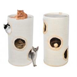 Domeček pro kočky 70cm béžovy