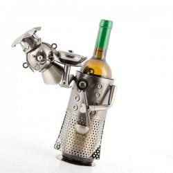 Kovový stojan na víno Mistr Šéfkuchař