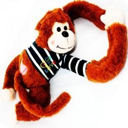 Plyšová opička s dlouhými rukama 70cm