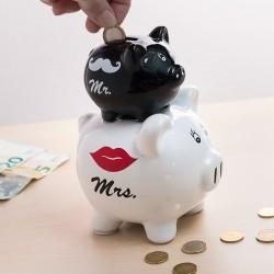 Pokladnička prasátka Mr & Mrs