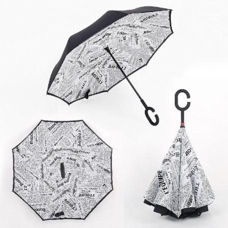 Obrácený deštník - Noviny