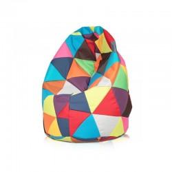 Sedací vak ECOPUF - MEGA SAKO polyester barevný