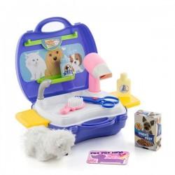 Zvířecí kadeřník s doplňky pro děti