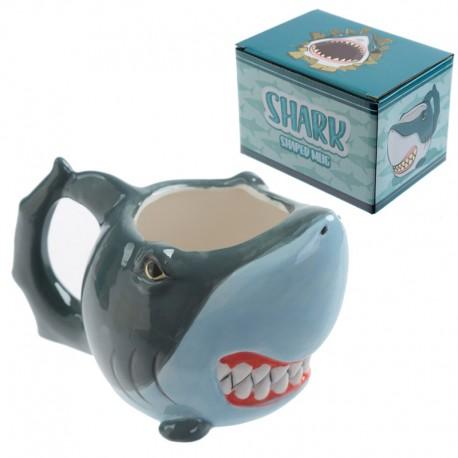 DR Hrnek 3D žralok 350ml