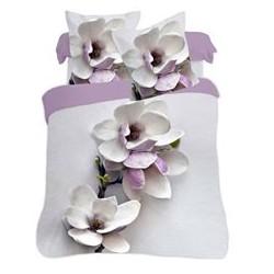 Povlečení 3D magnolie 140x200, 70x80
