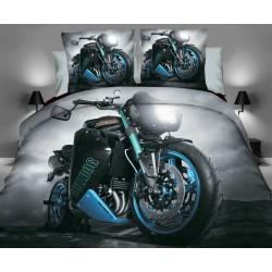 Povlečení 3D motorka č.5 140x200, 70x80