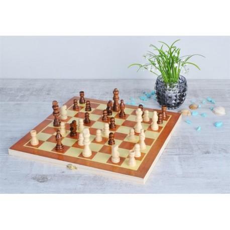 Šachy dřevěné 34cmx34cm