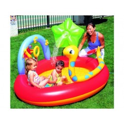 Dětský bazén s hadem