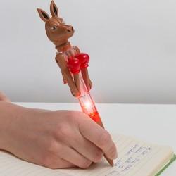 Kuličkové pero s LED - Klokan boxer