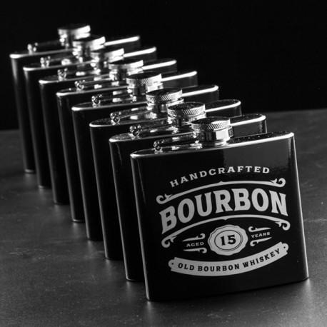 Kovová placatka whiskey