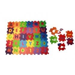 Pěnové puzzle na zem malé 36 kusů