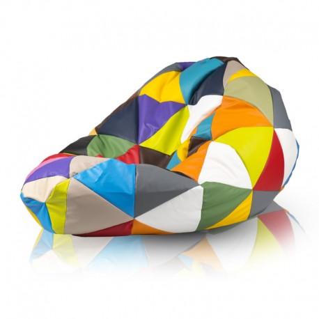 Sedací vak - MEGA SAKO barevný