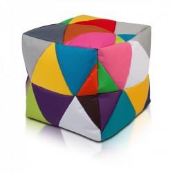 Taburetka - CUBE - S polyestér barevný