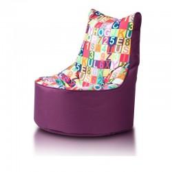 Dětský MINI sedací vak Ecopuf - SEAT S modern polyester