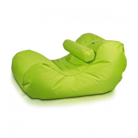 Ecopuf Sedací vak ECOPUF - HOGAN - polyester NC1 - Světle zelená