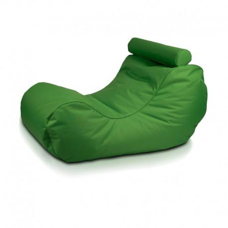 Ecopuf Sedací vak ECOPUF - HOGAN - polyester NC2 - Zelená