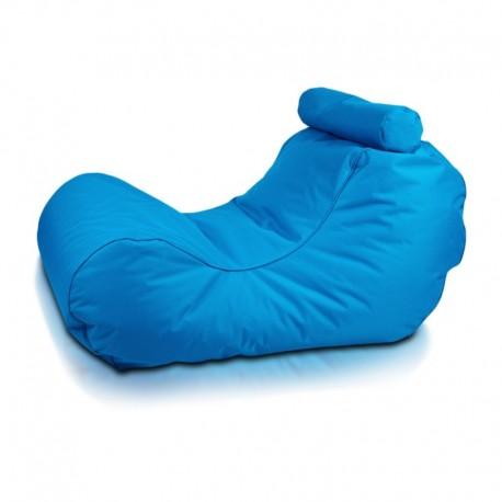 Ecopuf Sedací vak ECOPUF - HOGAN - polyester NC6 - Modrá