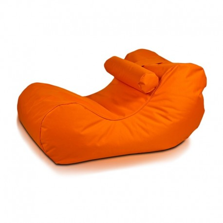 Ecopuf Sedací vak ECOPUF - HOGAN - polyester NC9 - Oranžová