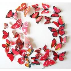 Nálepka / magnetka motýli