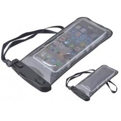 Voděodolné pouzdro na telefon černé