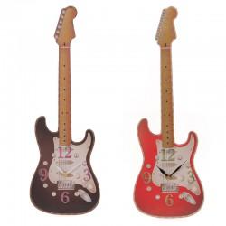 CKF68 Hodiny ve tvaru kytary
