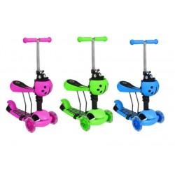 Dětská tříkolka - koloběžka