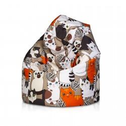 Sedací vak ECOPUF- SAKO modern polyester