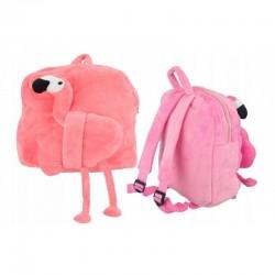 Dětský ruksačik plyšový plameňák
