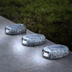 Sluneční LED kameny 3kusy