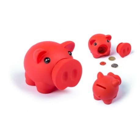 Pokladnička LITTLE PIG Červená