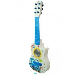 Veselá dětská kytara - autobus