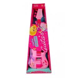 Dívčí elektrická kytara - růžová