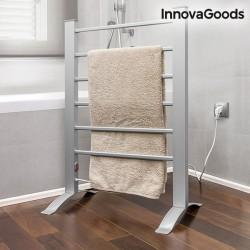 Elektrický sušák ručníků InnovaGoods šedý 90 W (6 tyčí)