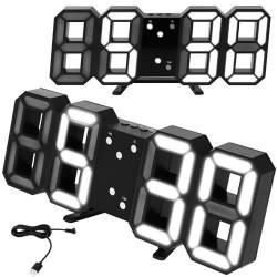 Digitální nástěnné hodiny