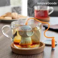 Silikonové čajové sítko - potápěč