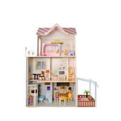 Drevený domček pro panenky - KRUZZEL