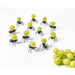 Napichovátka na jednohubky - mravenci 12ks