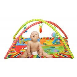 Dětská hrací deka s hrazdičkou