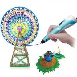 3D pero s příslušenstvím