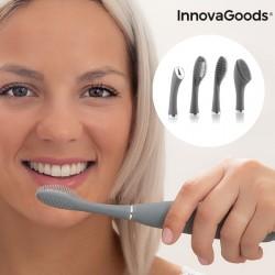 Silikonový zvukový kartáček na obličej a zuby Klinfor InnovaGoods