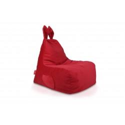 Dětský sedací vak Ecopuf - Zajíček L - Plyš amore