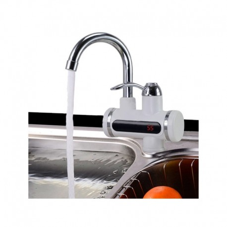 1111 DR Elektrický průtokový ohřívač vody LCD 3KW