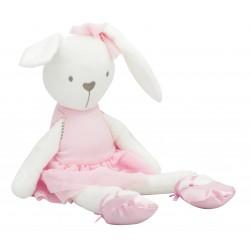 Plyšový králíček 42cm - růžový